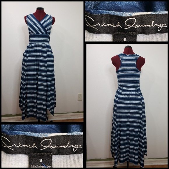French Laundry Dresses & Skirts - french laundry woman sleeveless tunic dress STRIPE